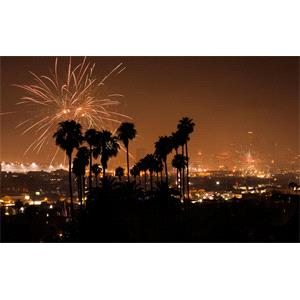 Rental Celebrating the New Year in Los Angeles