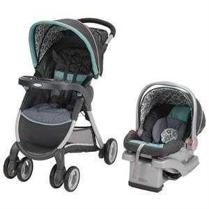 Rental Graco Fastaction Fold Click Connect Travel System - Affinia