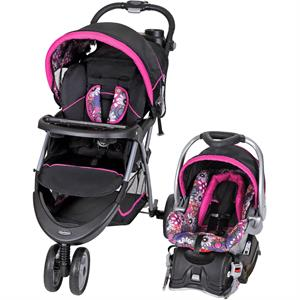 Rental Baby Trend EZ Ride 5 Travel System, Floral Garden