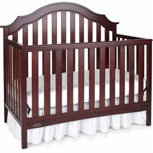 Rental Graco Addison 4 in 1 Convertible Crib Cherry