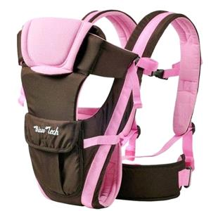 Rental Adjustable Newborn Infant Baby Carrier Comfortable Wrap Rider Sling Backpack NEW-PINK