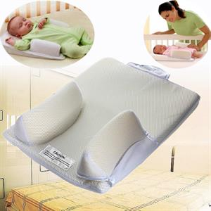 Rental Newborn Infant Baby Anti Roll Pillow Sleep Positioner Prevent Flat Head Cushion