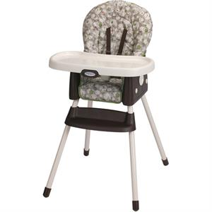 Rental Graco SimpleSwitch 2-in-1 High Chair, Zuba