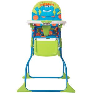 Cosco Simple Fold Deluxe High Chair, Choose Your Character