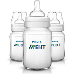 Rental Philips Avent Anti-Colic BPA-Free Baby Bottles - 9oz, Clear, 3 ct