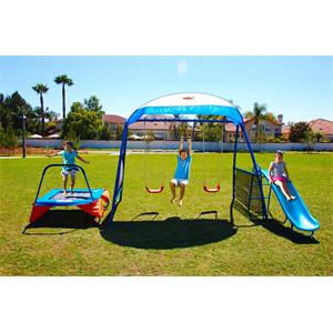 Rental IronKids Inspiration 250 Fitness Playground Metal Swing Set