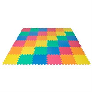 Rainbow Interlocking EVA Foam Baby Mat Playmat Children Crawling Playing Floor 36 PCS
