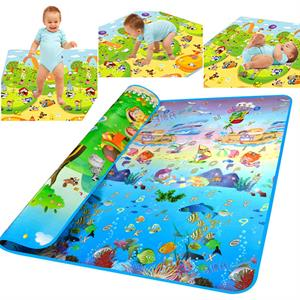 Rental Baby Kid Toddler Play Crawl Mat Carpet Playmat Foam Blanket Rug for In/Out Doors