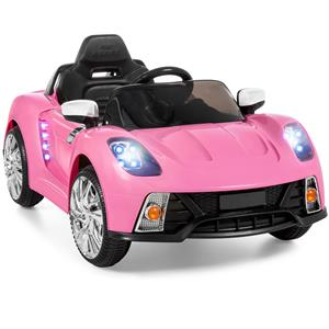 Rental 12V Ride On Car Kids W/ MP3 Electric Battery Power Remote Control RC Pink