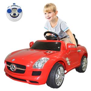Rental Costway RED MERCEDES BENZ 300SL AMG RC Electric Toy Kids Baby Ride on Car