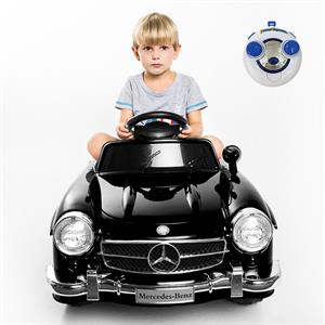 Rental Costway Black MERCEDES BENZ 300SL AMG RC Electric Toy Kids Baby Ride on Car