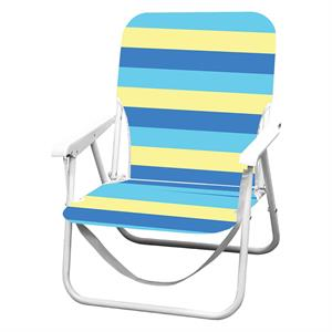 Rental Caribbean Joe folding beach chair with carrying strap