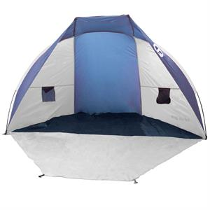 Rental Tahoe Gear Cruz Bay Summer Sun Shelter and Beach Shade Tent Canopy, Blue  White