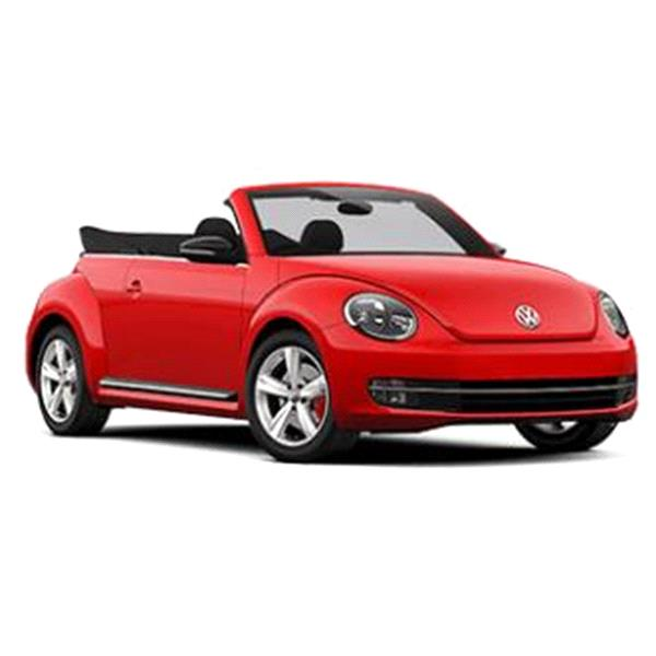 Rent VW Beetle Convertible equipment Miami Airport Hollywood Florida