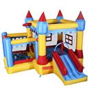 Generic Inflatable Bounce House Castle Commercial Kids Jumper Moonwalk With Ball Without Blower